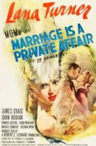 Marriage Is a Private Affair 1944 DVD - Lana Turner / James Craig